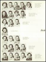 1957 Sunray High School Yearbook Page 42 & 43