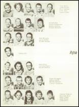 1957 Sunray High School Yearbook Page 44 & 45