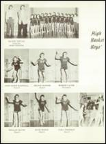 1957 Sunray High School Yearbook Page 62 & 63