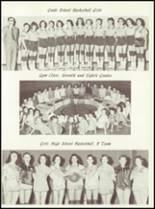 1957 Sunray High School Yearbook Page 64 & 65