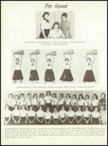 1957 Sunray High School Yearbook Page 86 & 87
