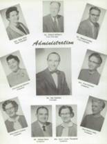 1959 San Jose High School Yearbook Page 10 & 11