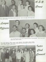 1959 San Jose High School Yearbook Page 20 & 21