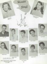 1959 San Jose High School Yearbook Page 60 & 61