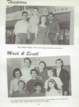 1959 San Jose High School Yearbook Page 66 & 67