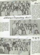 1959 San Jose High School Yearbook Page 80 & 81