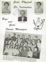 1959 San Jose High School Yearbook Page 100 & 101