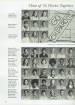 1976 Ft. Hill High School Yearbook Page 78 & 79