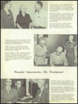 1956 Pratt High School Yearbook Page 20 & 21