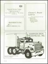 1982 Appomattox High School Yearbook Page 134 & 135