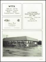 1982 Appomattox High School Yearbook Page 152 & 153
