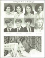 1971 Smethport Area Junior Senior High School Yearbook Page 54 & 55