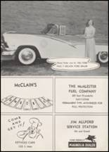 1956 McAlester High School Yearbook Page 130 & 131