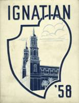 1958 Yearbook St. Ignatius College Preparatory School
