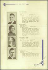 1936 Crosby High School Yearbook Page 42 & 43