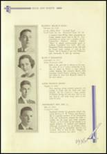 1936 Crosby High School Yearbook Page 62 & 63
