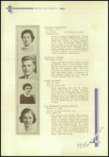 1936 Crosby High School Yearbook Page 66 & 67