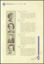 1936 Crosby High School Yearbook Page 72 & 73