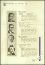 1936 Crosby High School Yearbook Page 76 & 77