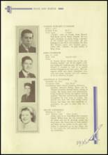 1936 Crosby High School Yearbook Page 94 & 95