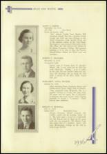 1936 Crosby High School Yearbook Page 112 & 113