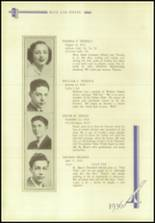 1936 Crosby High School Yearbook Page 116 & 117