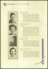 1936 Crosby High School Yearbook Page 120 & 121