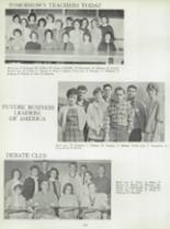 1963 Willow Glen High School Yearbook Page 166 & 167