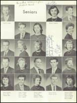 1959 Mt. Pleasant High School Yearbook Page 32 & 33