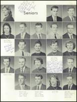 1959 Mt. Pleasant High School Yearbook Page 42 & 43