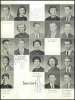 1959 Mt. Pleasant High School Yearbook Page 46 & 47