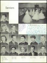 1959 Mt. Pleasant High School Yearbook Page 50 & 51