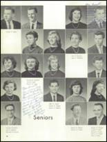 1959 Mt. Pleasant High School Yearbook Page 54 & 55