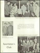 1959 Mt. Pleasant High School Yearbook Page 108 & 109