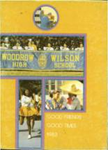 1983 Yearbook Woodrow Wilson High School