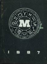 1967 Yearbook Mechanic Arts High School