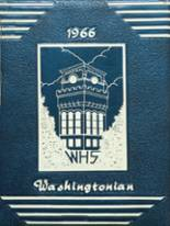 1966 Yearbook Washington High School