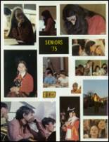 1975 Tussey Mountain High School Yearbook Page 12 & 13