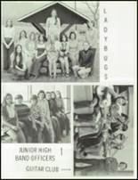 1975 Tussey Mountain High School Yearbook Page 104 & 105