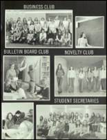 1975 Tussey Mountain High School Yearbook Page 108 & 109