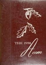 1958 Yearbook Jefferson High School