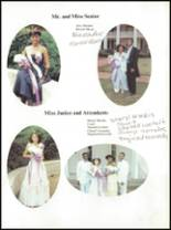 1985 Parker High School Yearbook Page 22 & 23