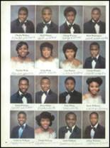 1985 Parker High School Yearbook Page 110 & 111