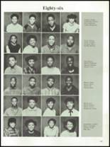 1985 Parker High School Yearbook Page 122 & 123