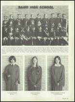 1979 Baird High School Yearbook Page 32 & 33
