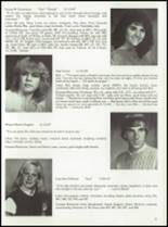 1985 Tolland High School Yearbook Page 34 & 35