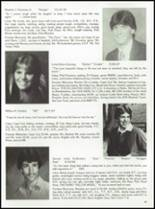 1985 Tolland High School Yearbook Page 38 & 39