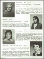 1985 Tolland High School Yearbook Page 40 & 41