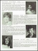 1985 Tolland High School Yearbook Page 42 & 43