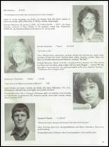 1985 Tolland High School Yearbook Page 70 & 71